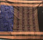 Master Weaver s Creation Exclusively Woven Animal Motifs Ikat Cotton Saree with Blouse Piece