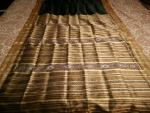 Traditional Elegant Black Khandua Silk Saree
