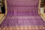 All over Traditional Motifs Ikat work Odisha Handloom Silk Saree with Blouse piece