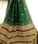 Tribal Bomkai Cotton Saree with Blouse Piece