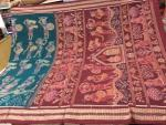 Tribal ladies day to day activities in Ikat hand woven cotton saree with Blouse