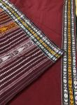 Thick Cotton Habashpuri Saree in Maroon