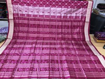 Exclusively Woven Beautiful Traditional Aanchal With Pasapalli n Tribal Motif Silk Saree with Blouse