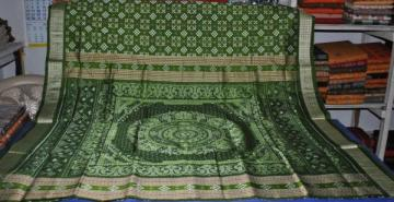 Traditional handwoven pasapalli Saree Sari