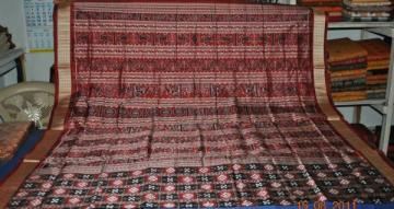 Orissa Handloom Pasapalli Saree with Traditional work Aanchal