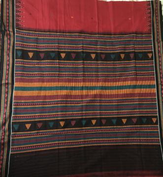 Dongria Cotton Saree without Blouse Piece