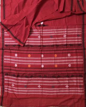Exclusively Woven Cotton Dhalapathara Saree