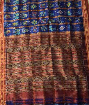 Nabakothi Khandua Silk Saree without Blouse Piece
