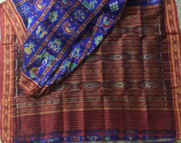 Nabakothi Silk Saree without Blouse Piece