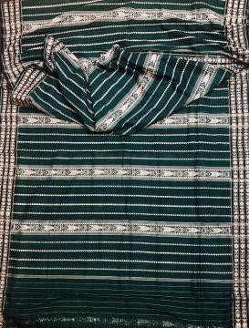 Exquisite All over Saree work King Habaspuri Cotton Saree with Blouse piece