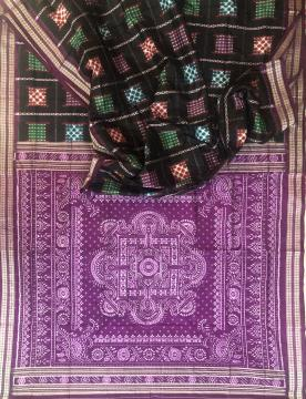 Exclusively woven Pasapalli boxes Aswini Silk Saree with Blouse Piece