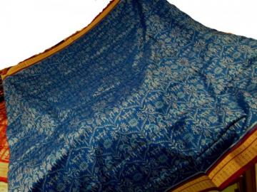 Orissa Handloom full body and aanchal ikat work saree sari