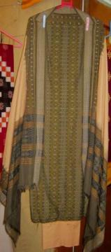 Orissa Handloom Ikat work unstitched Salwar Suit