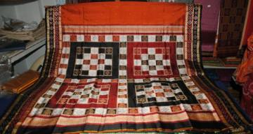 Odishi Handloom Pasapalli border and Aanchal Saree-4