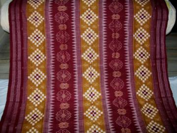 Orissa Handloom Traditional Pasapalli and Ikat Work Saree Sari