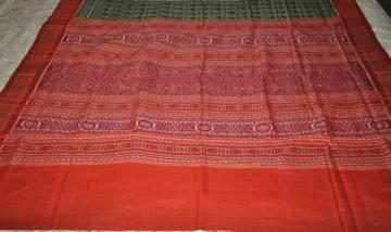 Beautiful Odisha Handloom all over Ikat work saree with Blouse Piece