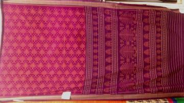 Orissa Handloom Ikat Cotton Saree