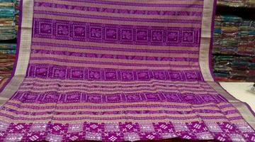 Pasapalli Tribal and Animal Motif Beautiful Ikat Silk Saree with Blouse Piece