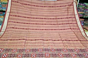 Master weavers Pasapalli Saree in Silk with Blouse Piece