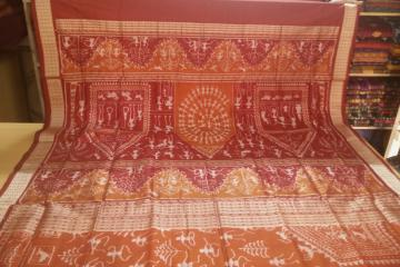 Traditional and Tribal Ikat Silk Sarees