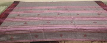 Cotton Tussar Grey Pink Kotpad Saree