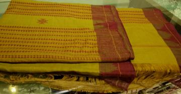 Cotton Tassar Kotpad Saree
