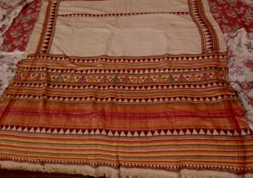 Authentic Dongria Kandha Tribal Thick Cotton Shawl