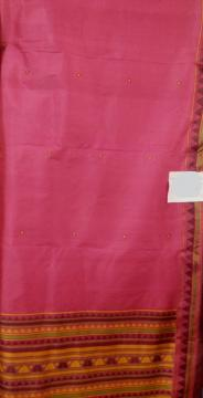 Exclusive Dongria Saree in Silk with Blouse Piece