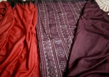 Traditional Erie SIlk Saree with Blouse Piece