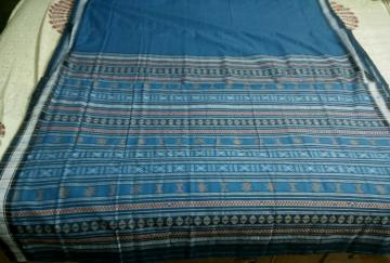 Exclusively Woven Habashpuri Cotton Saree