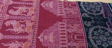 Master weaver s Temple and Animal motifs exclusive cotton saree with Blouse piece