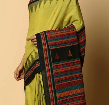 Back Again Traditional Cotton dongria Saree