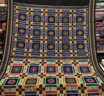Master Weaver S Very Very Old Pattern Utkallaxmi Ikat Cotton Saree without Blouse Piece