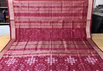 Exclusively Woven Tribal Motifs Pasapalli Silk Saree with Blouse Piece