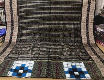 Timeless Bichitrapuri Silk Saree with Blouse Piece