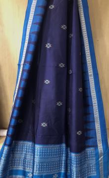 Beautiful Firbi Tribal Bomkai Silk Saree with Blouse Piece