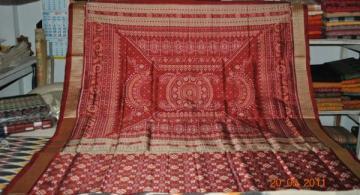 Orissa Handloom Beautiful Pasapalli Saree Sari