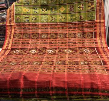 Nabakothi Khandua Silk Saree without Blouse Piece