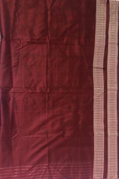 Hand woven Silk fabric with Border