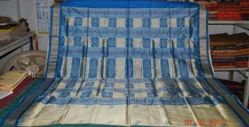 Orissa Handloom New pattern Designer Patli Bomkai Saree sari