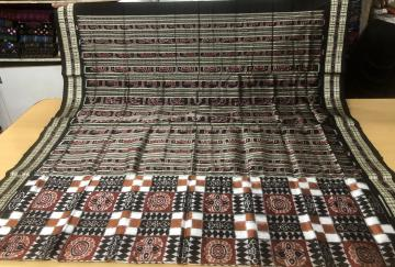 Exclusively Woven Silk Utkallaxmi Saree with Blouse Piece