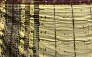 All over body work Ganga Jamuna Border Cotton Kotpad Saree