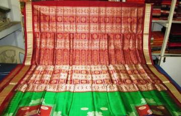 Orissa Handloom Box type Bomkai Saree sari