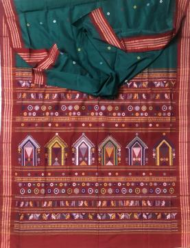 Beautiful Cotton Dolabedi Saree with Blouse piece