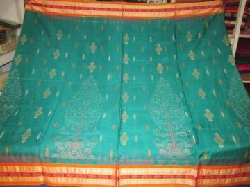 Orissa Handloom Ikat work body and bomkai Aanchal