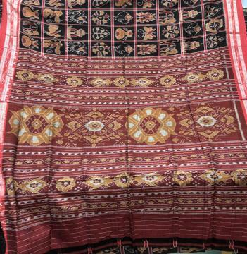 Traditional Cotton Nabakothi Saree without Blouse Piece