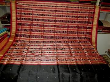 Orissa Handloom Traditional Ikat Saree Sari