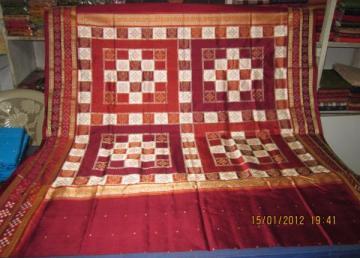 Orissa Handloom Pasapalli border Saree Sari