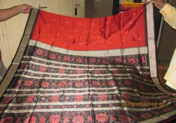 Odisha Handloom Traditional ikat work Saree Sari