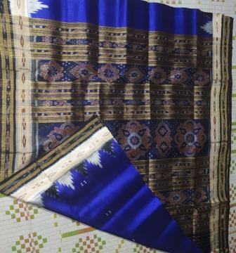 Traditional Khandua Silk Saree
